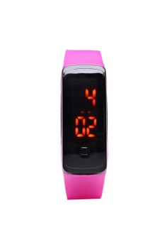 Bluetooth Intelligent LED Touchscreen Silica Gel Wristbands Multifunction Electronic Watch