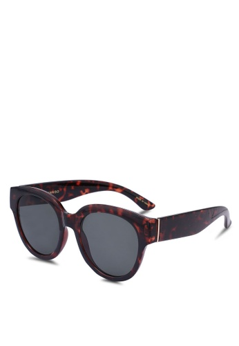 Mango brown Tortoiseshell Sunglasses B6782GL3A0C5D4GS_1