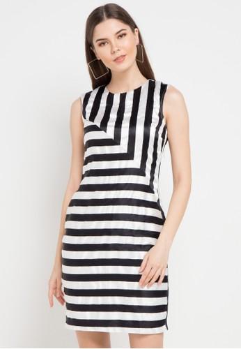 EPRISE black and white Poppy Dress CF8D6AACB1D9E2GS_1