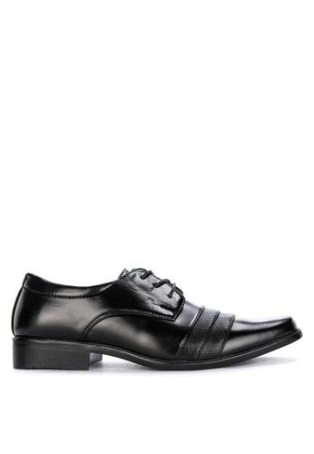 H2Ocean black Klaus Men's Formal Laced-up Shoes 6D087SHE1EE416GS_1