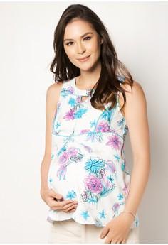 Printed Maternity Top