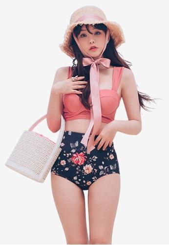 Another Sweet multi 2 Pieces Floral High Waist Bikini Set C9E7CUS5F3E032GS_1