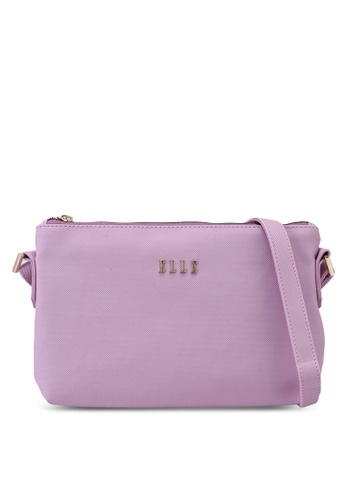 ELLE purple Amelia 2 Crossbody Bag F2729AC02D64DFGS_1