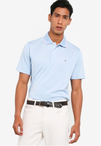 Brooks Brothers blue Pique Polo Shirt With Tipping D978AAA8DEBBFDGS_1