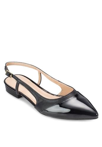 尖頭鏤空平底鞋, 女鞋esprit服飾, 鞋
