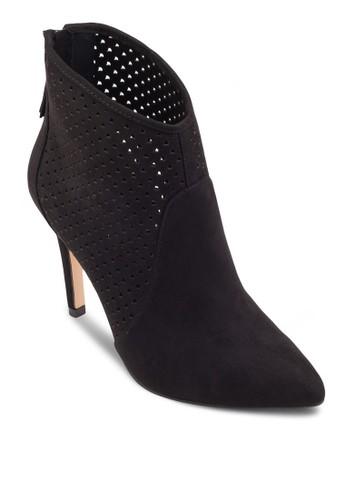 esprit 工作沖孔尖頭高跟短筒靴, 女鞋, 鞋
