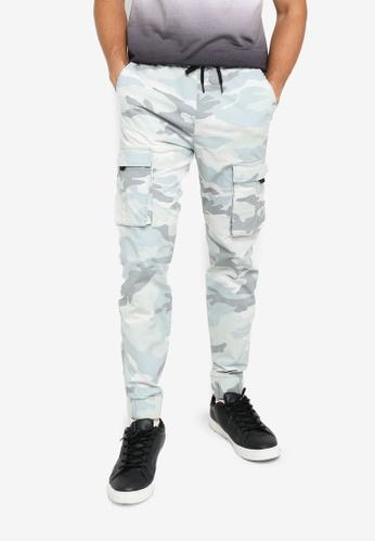Hollister grey Summer Utility Jogger Pants 34E9DAA0D274D9GS_1