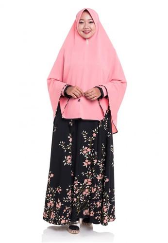 First Hijab black Dress Kanaya Set Black D0B49AAFC26CC2GS_1