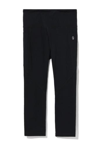 izzue black Nylon leggings 1FEBCAAF951809GS_1