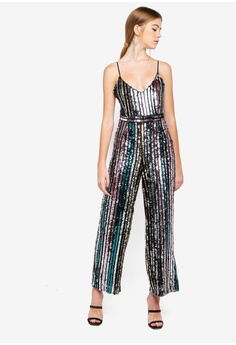 20e8ac066180 58% OFF Miss Selfridge Petite Mini Me Rainbow Jumpsuit RM 599.00 NOW RM  248.90 Sizes 4 6 8 10 14