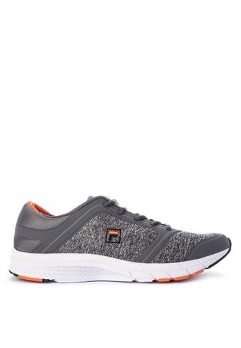 Fila grey F Server Running Shoes B5631SH30627D7GS_1