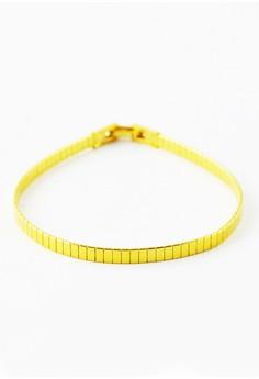 Omega Goldtone Bracelet