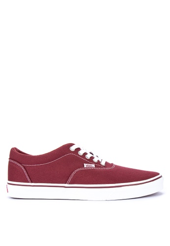 VANS red Doheny Sneakers A748BSHBF33896GS_1