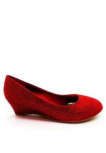 Emily Dillen red ED Carrie Swarovski Wedges 2398 Red EM028SH40FBFID_1