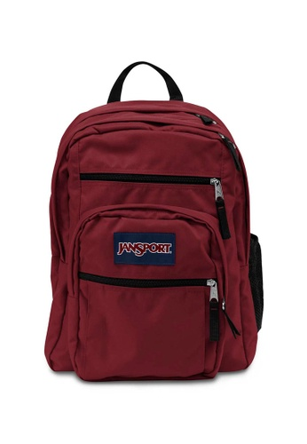 Jansport red Jansport Big Student Viking Red Backpack 34L 07462AC95CC8E0GS_1