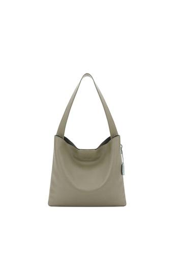 RABEANCO grey RABEANCO JHU Shoulder Bag - Grey Khaki A6186AC4BB6623GS_1