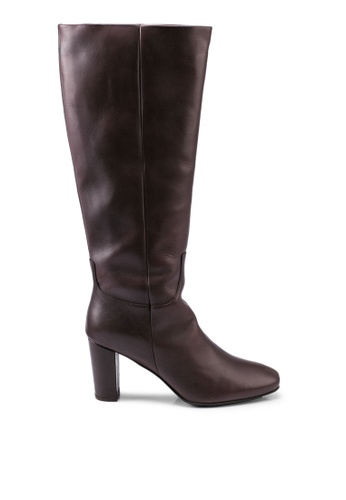 Vero Moda brown Mariana Leather Boots A4081SH3806675GS_1