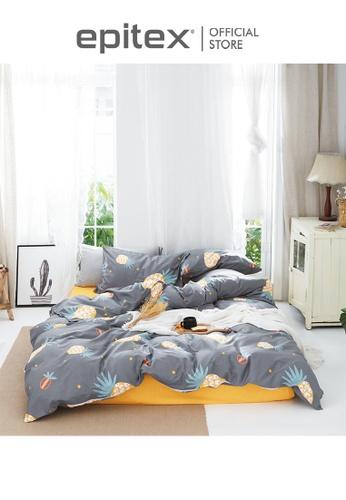 Epitex multi Epitex CK2032-2 900TC 100% Cotton Single Bedset - Fitted Sheet Set 90800HL10C95D4GS_1