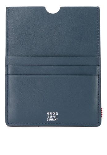 Herschel multi Eugene Leather Passport Holder 20BFEAC555758BGS_1