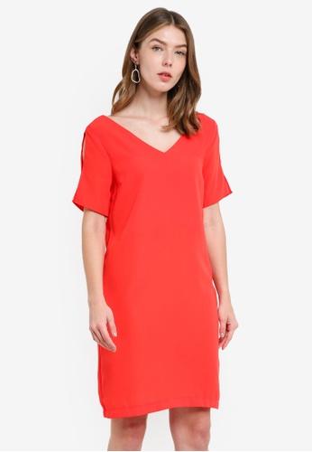 OVS red Women's Woven Dress 31DF3AACEB0696GS_1