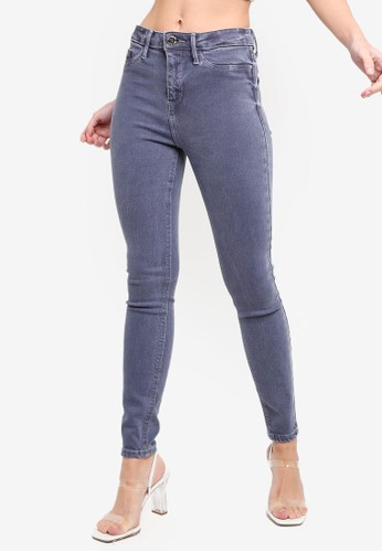 River Island grey Molly Jeggings 51560AA22D5ED8GS_1