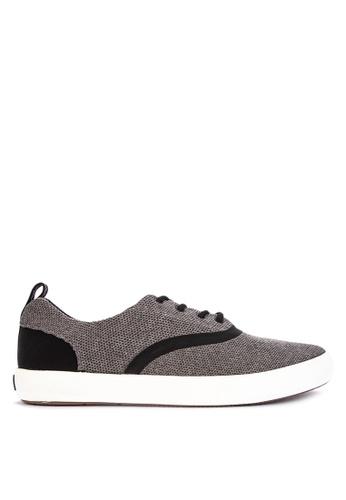 Sperry grey Flex Deck CVO Knit Sneakers 70CEFSH6B17561GS_1