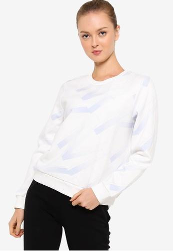 Anta white Km Sweatshirt 337BEAAEF8960EGS_1