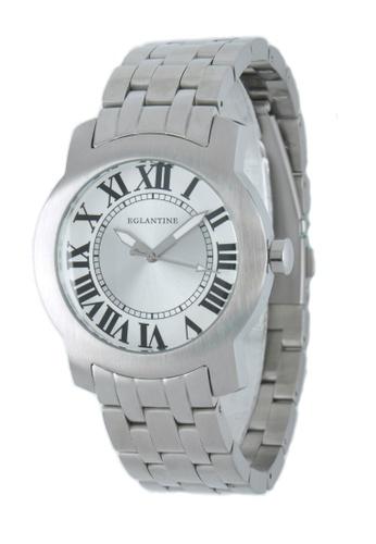 EGLANTINE silver EGLANTINE® Emile Unisex Steel Quartz Watch on Steel Bracelet 7B428ACD8F99D9GS_1