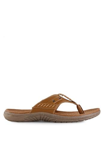 Homyped brown Sigra 01 Men Sandals HO842SH38GZDID_1