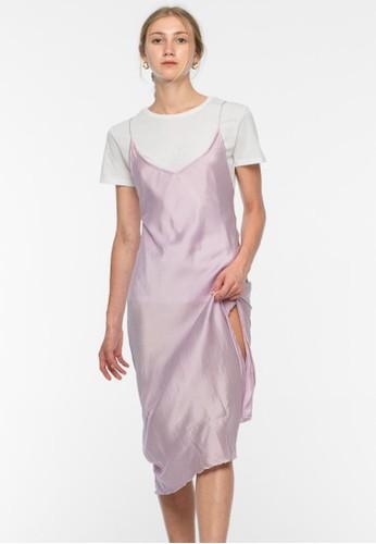 RIMMBA purple Lili Silk Dress - Lilac 95B3CAA3ABC11EGS_1
