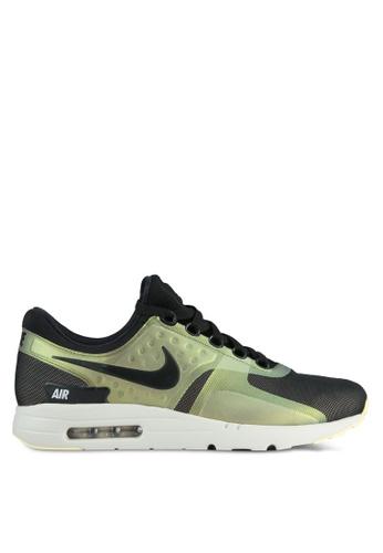 Nike black and beige Men's Nike Air Max Zero SE Shoes NI126SH0SHGRMY_1