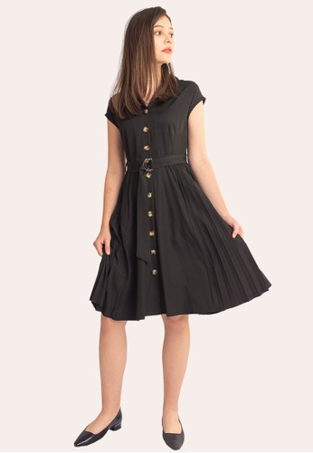 L'zzie black LZZIE MALIN DRESS - BLACK 95C31AAA4D1AA3GS_1