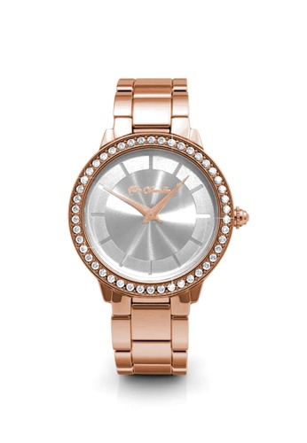 Her Jewellery gold Pure Watch (Rose Gold) - Made with premium grade crystals from Austria 51388AC460879AGS_1