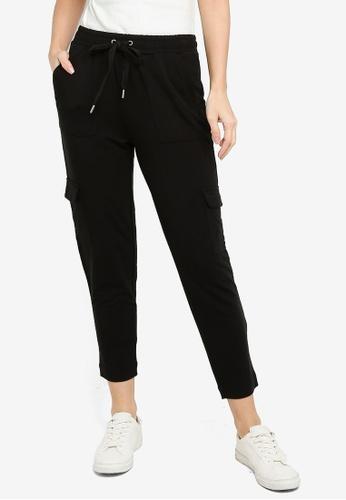 Banana Republic black Knit Utility Jogger Pants E820EAAD8D8236GS_1