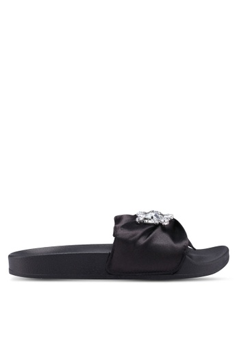 Kenneth Cole 黑色 Reaction Pool Jewel Sandals EBA12SHF073266GS_1