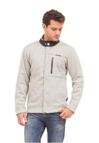 MUGABE grey MUGABE mens jacket panama grey F8647AA6B446D9GS_1