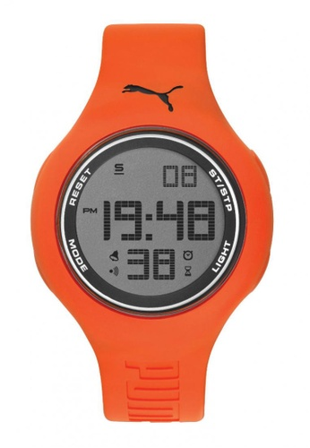 Puma orange PU910801042 Loop L Orange Blue Digital Men Watch PU549AC0RKJTMY_1