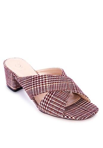 ABOUT A GIRL pink Heeled Slides DD486SHA6B1EB8GS_1