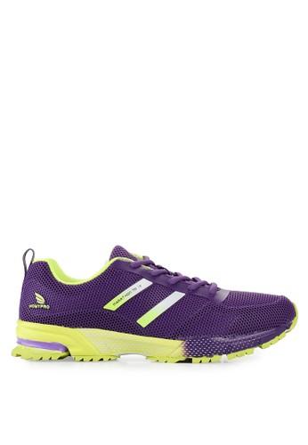 Homypro purple Ultra Cool Running Shoes HO843SH11LMYID_1