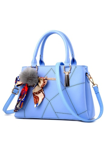 TCWK blue TCWK Korea Style Light Blue Ladies Handbag TC258AC0S9WOMY_1
