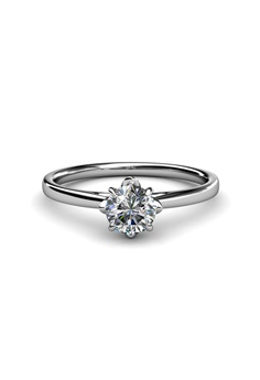 Her Jewellery silver Simply Ring - Embellished with Zirconia from Swarovski® HE210AC70JCZSG_1