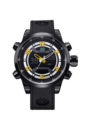 Weide yellow WH3315B-3C Analog Watch WE088AC92KVNPH_1