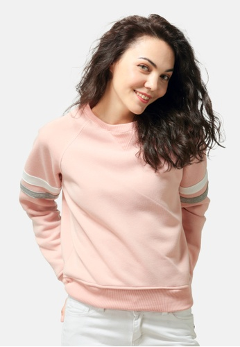London Rag pink Crew Neck Sweatshirt 5990BAAC5A39B2GS_1