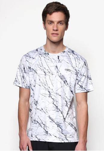 印花運動短袖Tzalora 手錶EE, 服飾, T恤