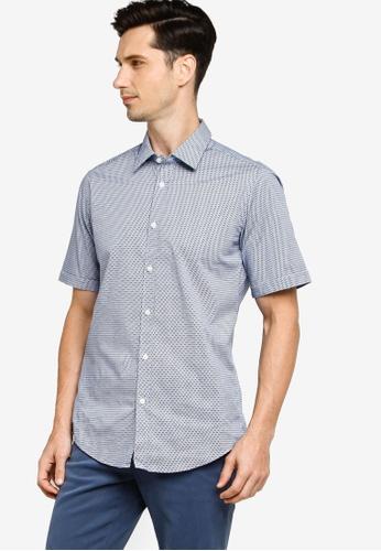 BOSS blue Luka Shirt 980E5AA8297F1BGS_1
