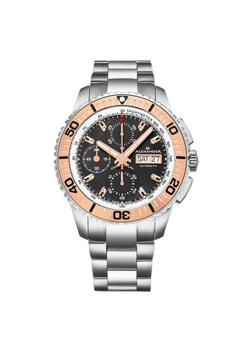 5fd5d332a Buy Alexander Alexander Olyn Mens Automatic Chronograph Watch with ...