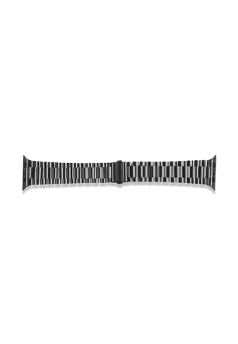 Kings Collection black Black Stainless Steel Apple Watch Band 38MM/40MM (KCWATCH1016) 0E379ACA633874GS_1