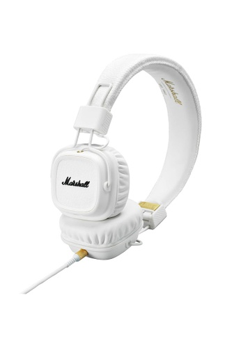 Marshall white Major II headphone - White  ( Android )  MA130AC91ZIEHK_1