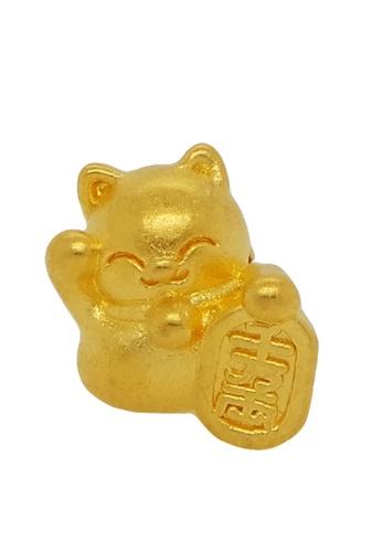 LITZ gold [SPECIAL] LITZ 999 (24K) Gold Lucky Cat Charm 8B244AC01F6FBDGS_1