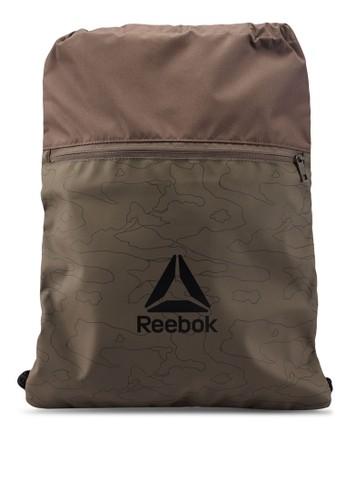 Reebok grey Training Act Enh Gymsack 047B5AC81DF78BGS_1